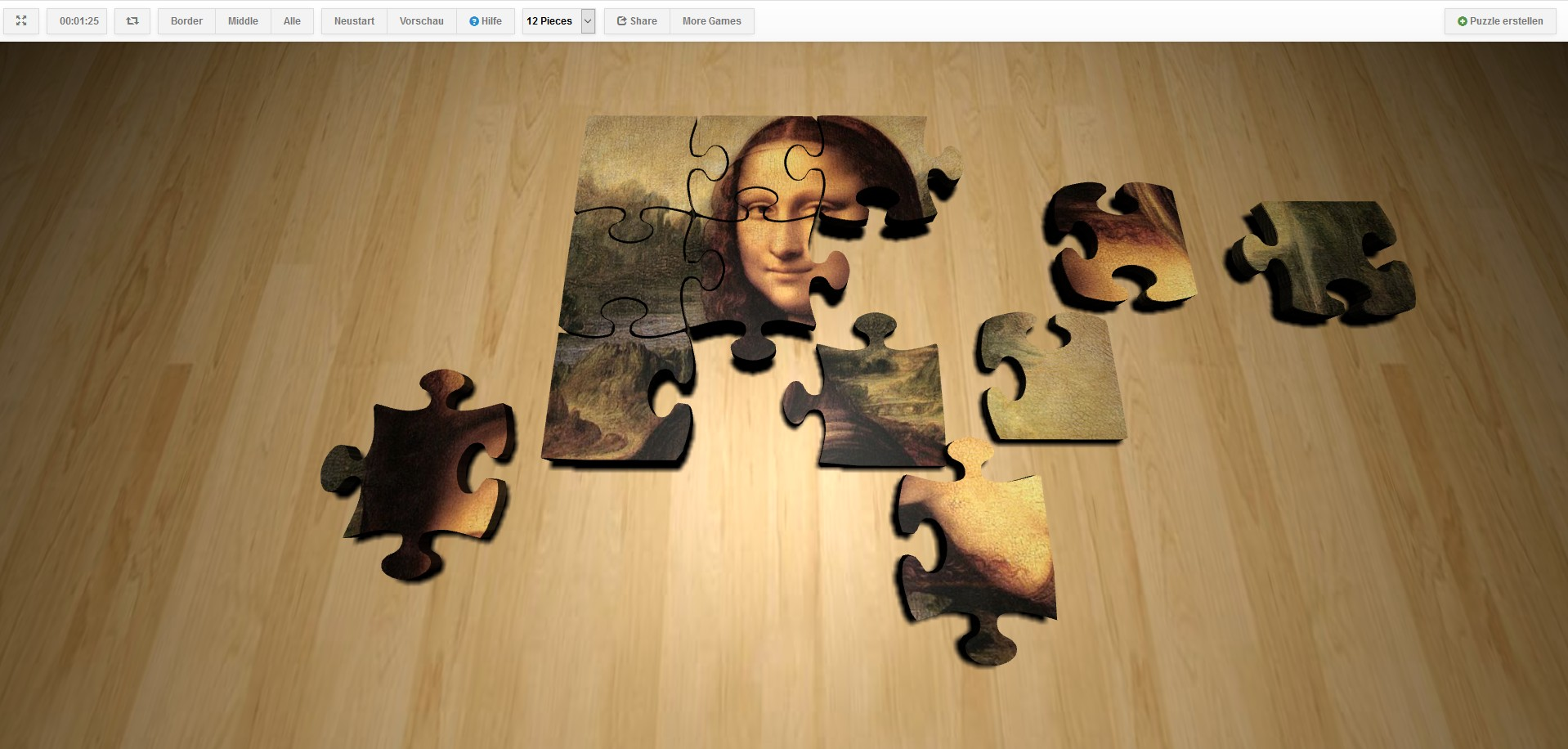 Image 3D Puzzle Creator