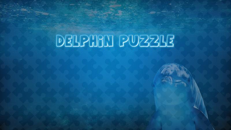 Image Delphin Puzzle