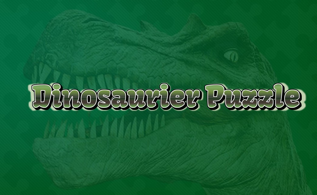 Image Dinosaurier Puzzle
