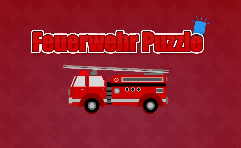 Image Feuerwehr Puzzle