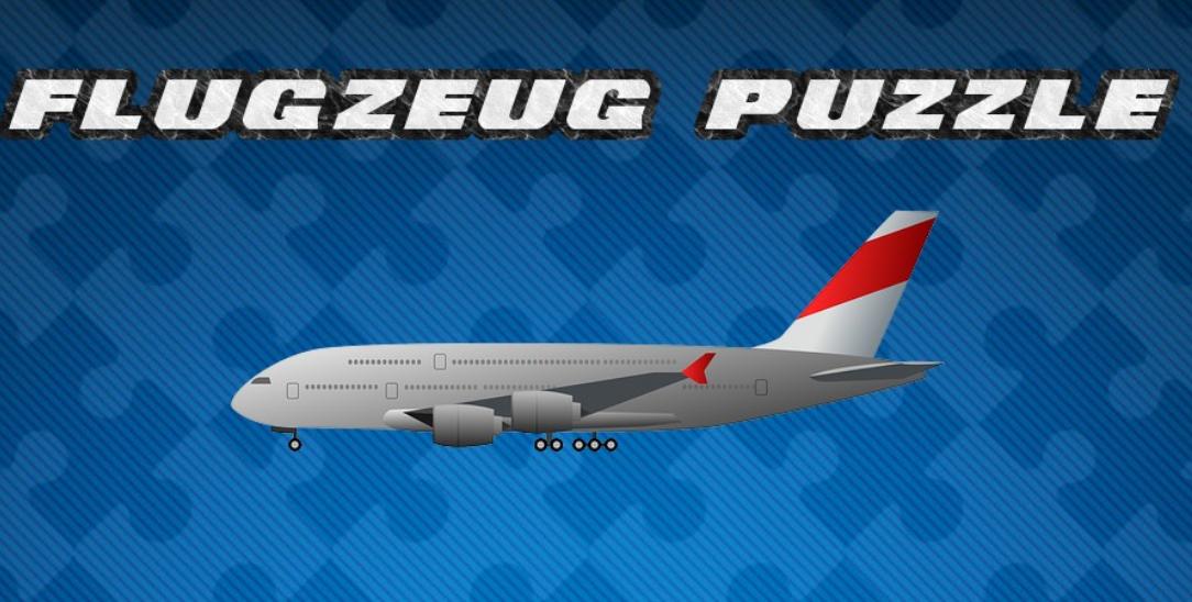 Image Flugzeug Puzzle