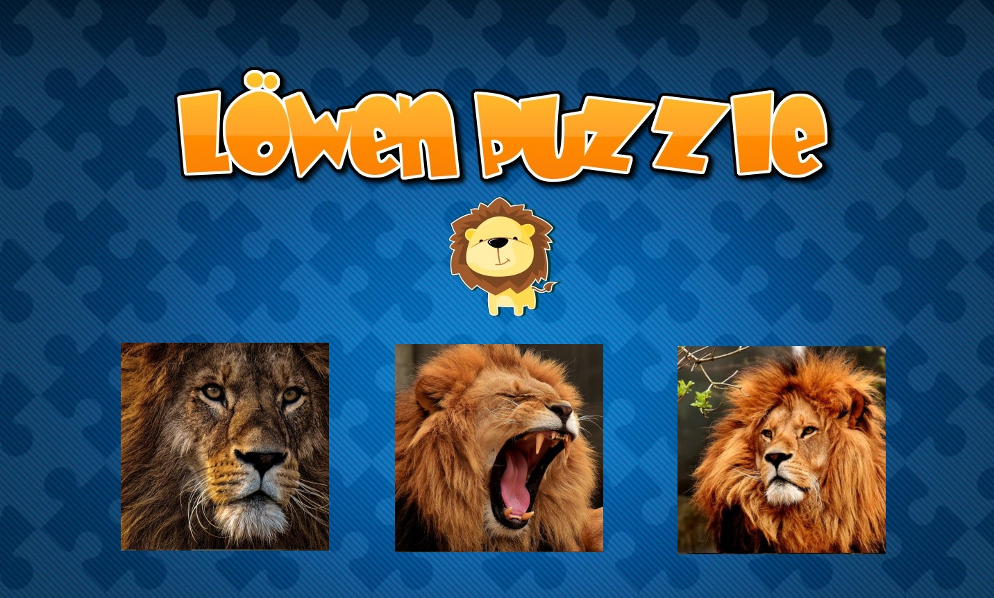 Image Löwen Puzzle