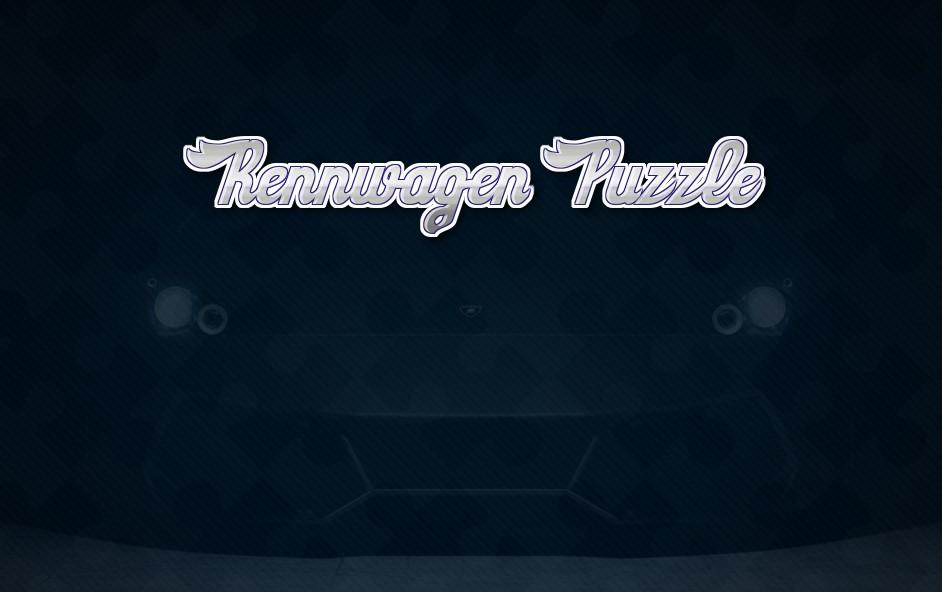 Image Rennwagen Puzzle